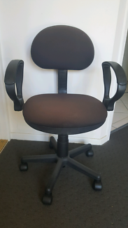 Computer/student Black Office Swivel Chair