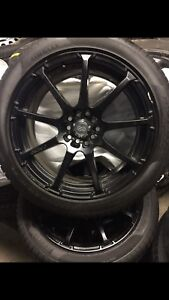 "Nissan Maxima Altima Toyota Camry 18"" wheels and tires"