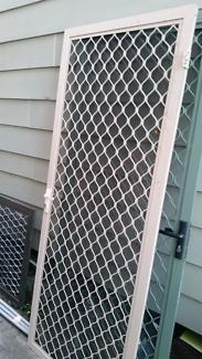 Aluminium Screen security door