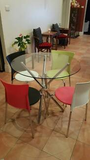 Glass Table Set for Sale