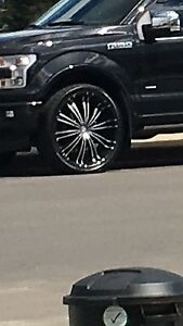 """26"""" rims with rubber"""