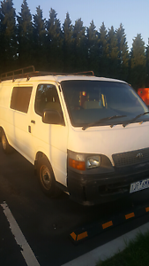 Toyota hiace Princes Hill Melbourne City Preview