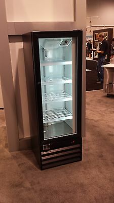 Kelvinator Single Glass Door Reach In Cooler Refrigerator Brand New 10 Cu