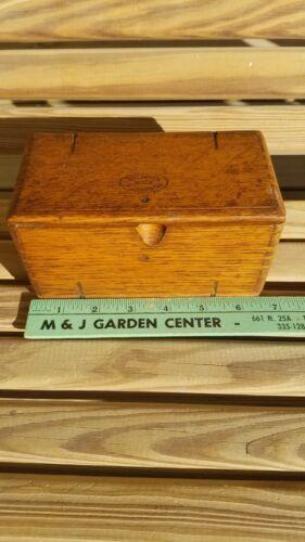 Vintage  Singer Sewing Machine Box 1889 Wood Dovetail Puzzle Box