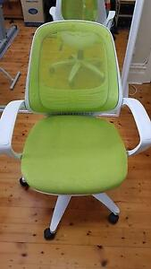 Beautiful Office Desk Chair Lime Mesh with Armrest RRP $200 Eastwood Ryde Area Preview