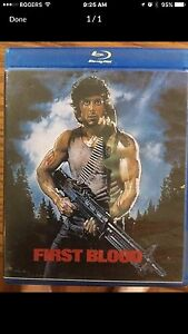 Rambo First Blood Blue Ray London Ontario image 1
