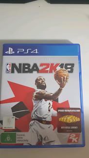 Wanted: NBA 2K18 PS4