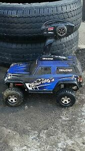 Rc traxxas telluride and traxxas emax