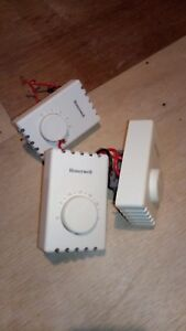 Honeywell Thermostats for electric baseboard heaters