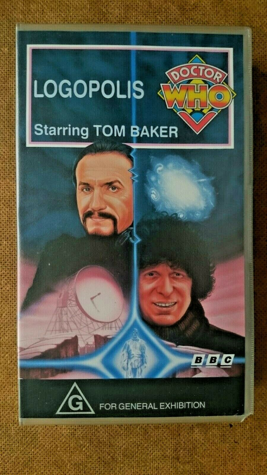 Doctor Who - Logopolis (VHS, 1992) - Australian Edition - Tom Baker