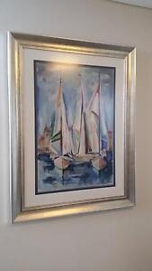 Sailing Framed Painting Manly Manly Area Preview
