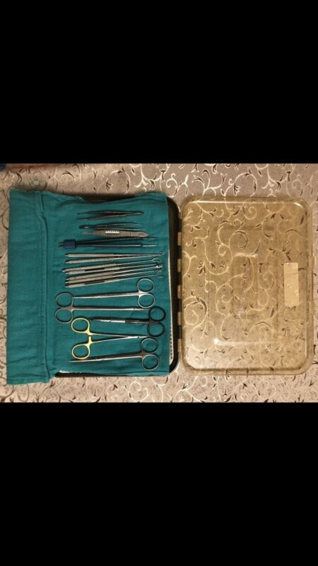 Microsurgical neurosurgical set instruments