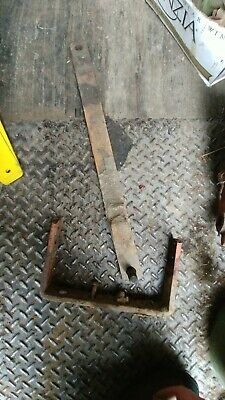 Allis Chalmers G Drawbar And Support Frame