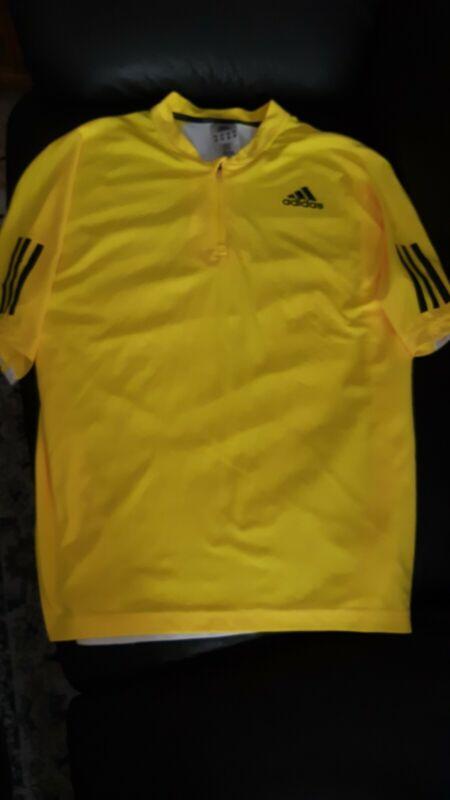 Adidas tennis shirt mens L Safin