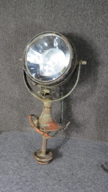 Antique Bronze Marine  Search light