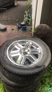"20"" rims for chevrolet truck"