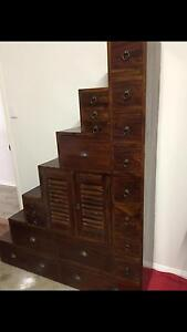 Balinese step style cabinet Heathwood Brisbane South West Preview