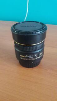 Nikon AF Fisheye 10.5mm 1:2.8G ED DX lens