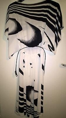Wunderschönes Kleid, Frank Usher (London), Gr. 38, nur 1x getragen, schwarz/weiß (Usher Kleid)