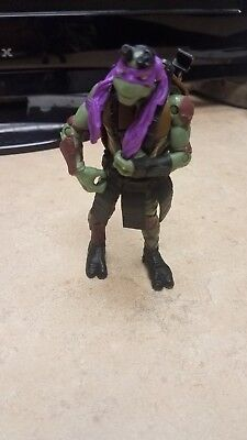 Playmates 2014 Raphael movie action figure Teenage Mutant Ninja Turtles Clean!!