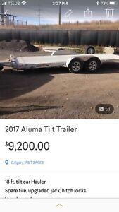 18 ft. Aluma Car Hauler