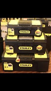Stanley tool boxes sell All Today please call only 7802450197