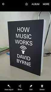 How Music Works - book by David Byrne Waterloo Inner Sydney Preview