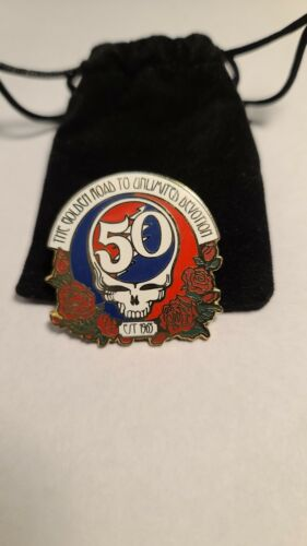 Greatful Dead 50th Anniversary Numbered Pins