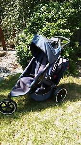 Phil & Ted double pram / stroller Taylors Hill Melton Area Preview