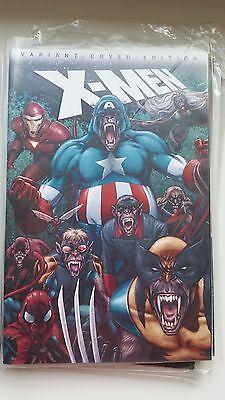 Panini Marvel Comic X-Men Vol. 2 Nr. 106 Variant Cover Comic Action 2009