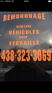 Achetons vehicules cash 300$ et ++ laval 438 323 3069