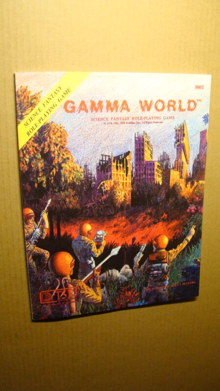 GAMMA WORLD RULEBOOK *NEW NM/MT 9.8 NEW* DUNGEONS DRAGONS