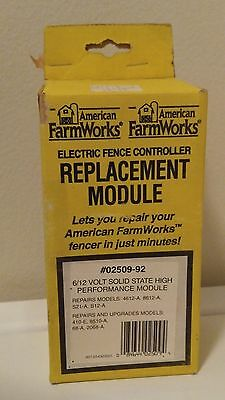 American Farm Works Zareba Electric Fence Controller Replacement Module 02509-92