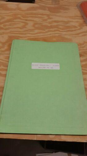 Data East Deco Cassette Manual Shop Manual 1US5