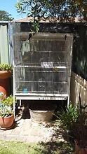 Large white bird cage for sale in good condition Orange Orange Area Preview