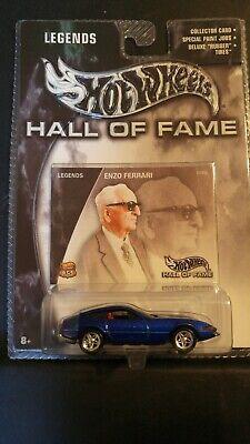 Hot Wheels Hall of Fame Enzo Ferrari VHTF