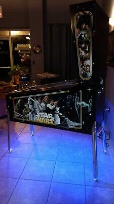 CUSTOM WRAPPED Virtual Pinball Game - STAR WARS