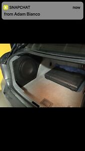 E90 sub box and amp