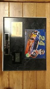 jeff gordon authentic racing tire wall plaque