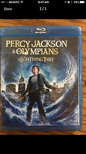 Percy Jackson and the Olympians The Lightning Thief Blue Ray London Ontario image 1