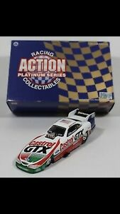 John Force 1998 Mustang Funny Car Action 1:24 scale Funny Car.