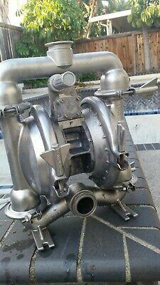 Versa Matic Stainless Steel 316 Diaphragm Pump 2 Ports