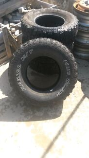 4x4 tyres radial m/t mud claw Beldon Joondalup Area Preview