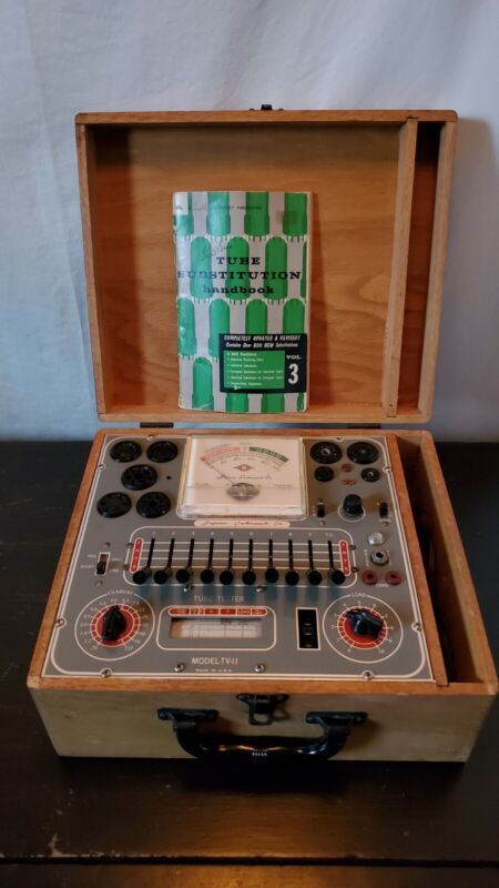 Superior Instruments Co. Model TV-11 Tube Tester, Working Condition