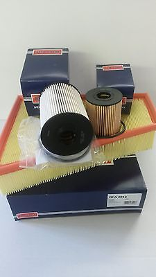 Ford Mondeo MK4 2.0 TDCi Oil Air Fuel Filter Service Kit  Borg & Beck 2007-12