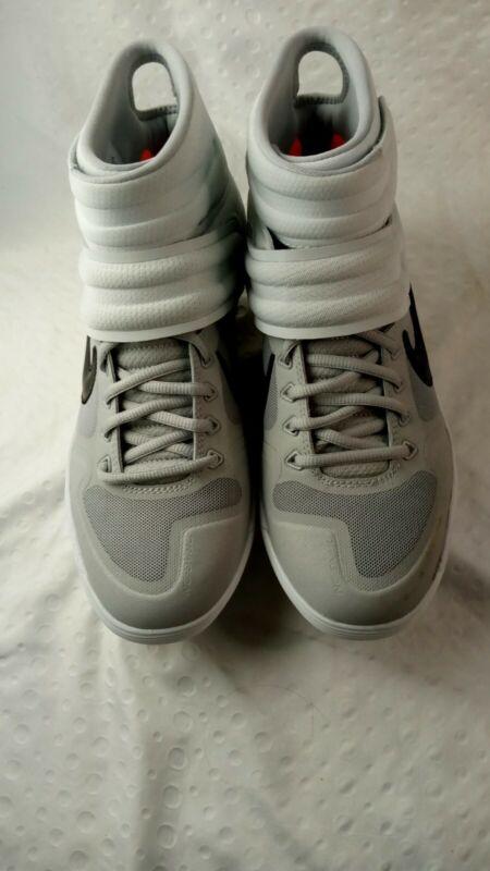 Nike Alpha Huarache Elite 2 Mid Baseball Cleats Grey AJ6874-002 Sz 9
