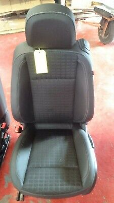VAUXHALL ASTRA VAN 06-12 FRONT LEATHER LOOK PAIR CAR SEAT COVER SET