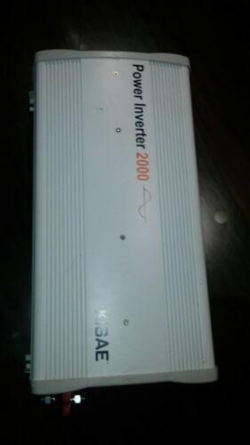 Kisae 2000 watt pure sine inverter