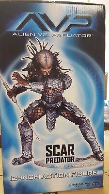 """AVP Alien vs Predator - 12"""" Scar PREDATOR Price Reduced"""