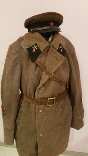 Pea Jacket Gunner Captain 1940 Red Army WW2  Stalingrad Bunker